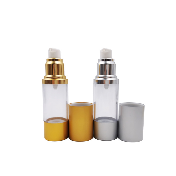 in stock colorful airless bottle