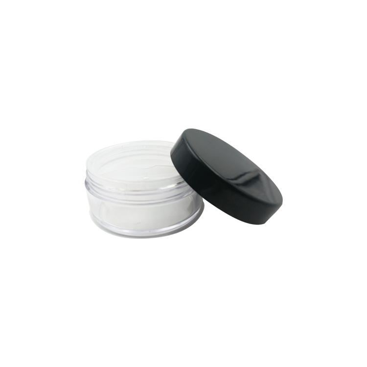 low MOQ plastic loose powder box