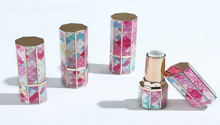Cosmetics packaging material lipstick tube